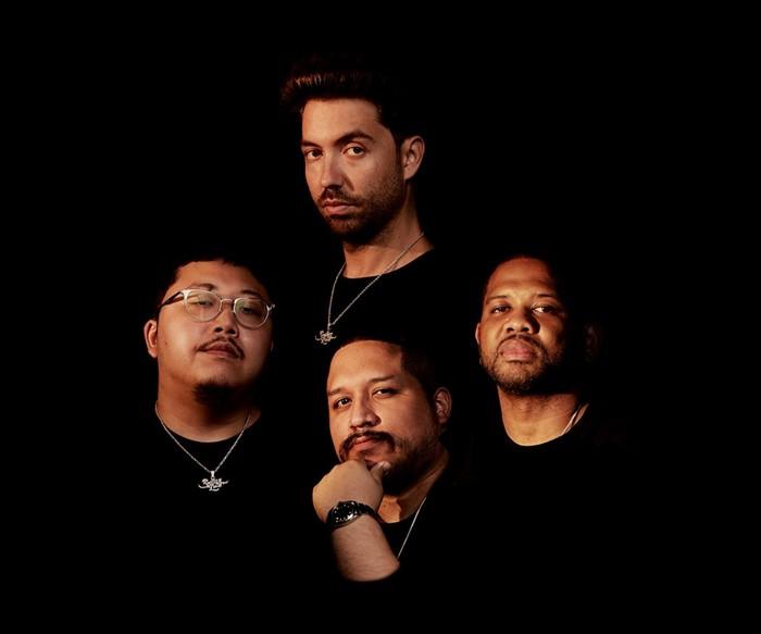 Top clockwise: Tariq Cherif, DJ Five Venoms, Wilson Zarzuela, and Kelvin Li - PHOTO COURTESY OF ROLLING LOUD