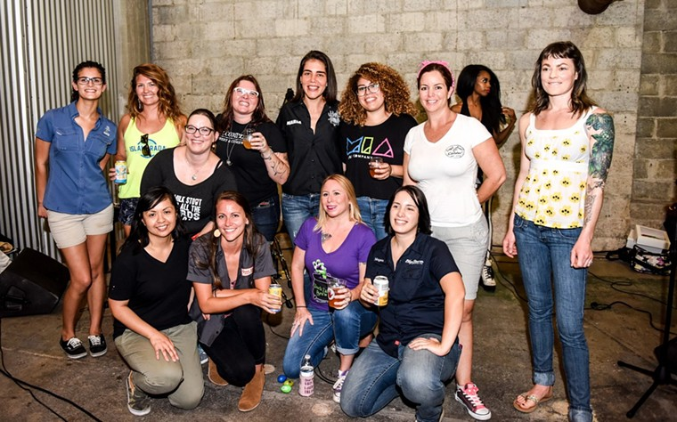 The women of FemAle Brew Fest - PHOTO BY CARINA MASK