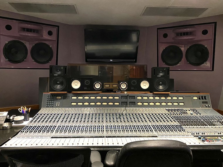 Studio C at Criteria Recording Studios where portions of Fleetwood Mac's Rumours was made. - PHOTO BY JESSICA GIBBS