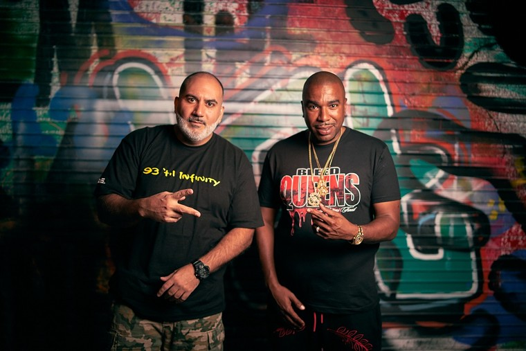 Drink Champs hosts DJ EFN (left) and N.O.R.E. - PHOTO BY DRAINFLIX
