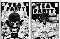 Racist comix roil Tea Party waters