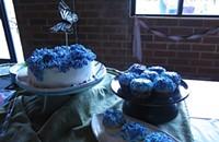 How to make a hydrangea cake