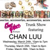 Today: Chan Luu trunk show at Our Place