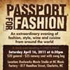 Reminder: Passport for Fashion