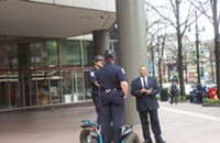 Cops on Segways, it just doesn't make me feel all that safe