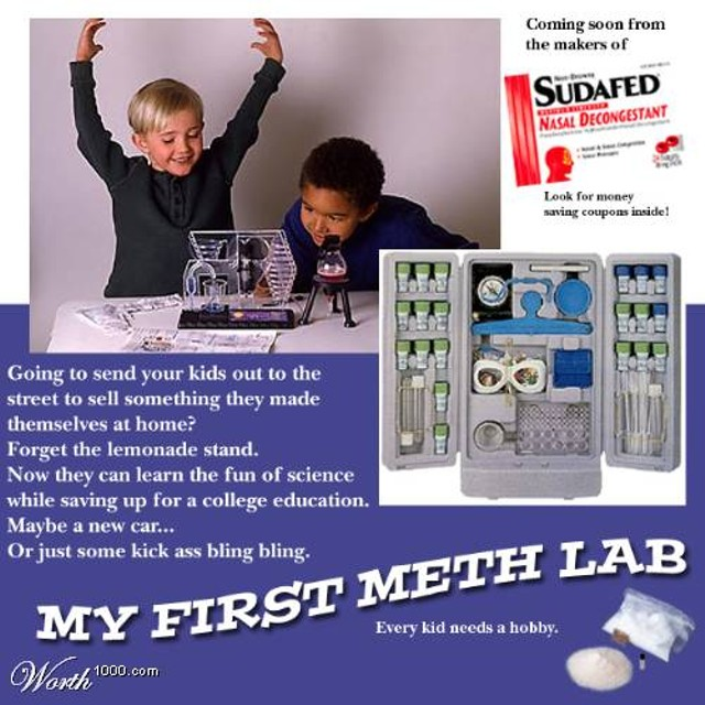 Your neighbors may be operating a meth lab if ... | The CLog