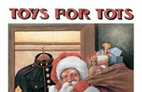 Scout & Molly's does Toys For Tots