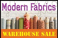 Upcoming: Warehouse sale at Modern Fabrics