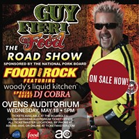 Win tickets to see Guy Fieri May 18