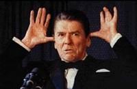 Conservatives celebrate their Reagan myths