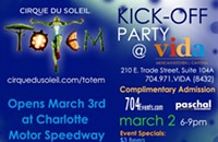 Kick-off party for Totem