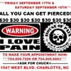Attention piercing addicts!