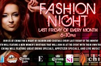 Tonight: Fashion Night at Chima
