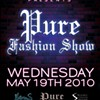 Upcoming: PURE fashion show at Halo
