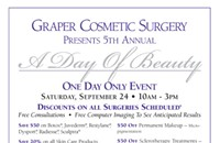 'A Day of Beauty' with Dr. Robert Graper, cosmetic surgeon