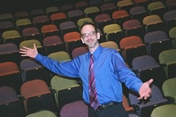 PERRY TANNENBAUM - A LIFE IN THE THEATER: Alan Poindexter, in his element