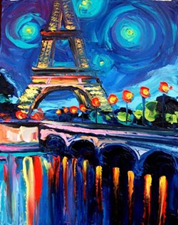 """ A Night In Paris"""