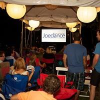 A screening from last year's Joedance Film Festival