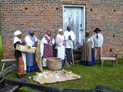 A slavery era homestead