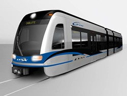 A SUCCESS?: Mayor Pat McCrory had good things to say about Charlotte's mass transit system
