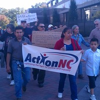 Action NC backs West Side Latino tenants with housing-rights issue