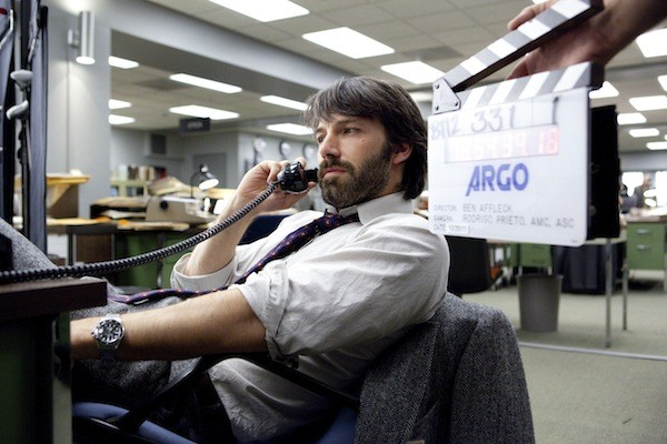 Actor-director Ben Affleck on the set of Argo