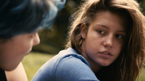 Adèle Exarchopoulos in Blue Is the Warmest Color (Photo: IFC Films)