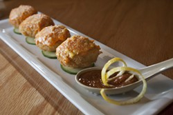 ANGUS LAMOND - ADVOCATE: Fried deviled eggs