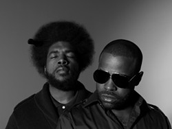 CHAGO AKII-BUA AND BRIAN JONES - Ahmir ?uestlove Thompson and Black Thought of The Roots