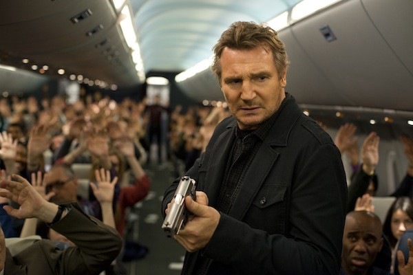 AIR APPARENT: Liam Neeson in Non-Stop. (Photo: Universal)