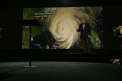 Al Gore discusses the effects of global warming in this scene from An Inconvenient Truth. - ERIC LEE / PARAMOUNT CLASSICS