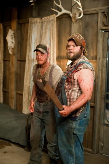 Alan Tudyk and Tyler Labine in Tucker & Dale vs. Evil (Photo: Magnolia)