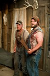 <p>Alan Tudyk and Tyler Labine in <i>Tucker & Dale vs. Evil</i> (Photo: Magnolia)</p>
