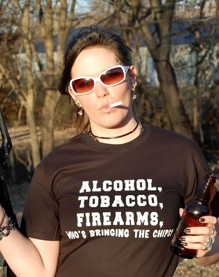 ALCOHOL-TOBACCO-FIREARMS
