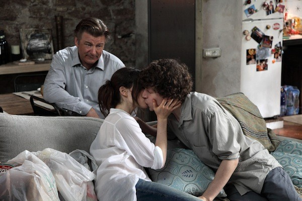 Alec Baldwin, Ellen Page and Jesse Eisenberg in To Rome with Love (Photo: Sony Pictures Classics)