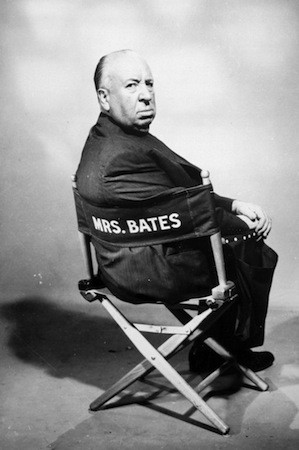 Alfred Hitchcock, hard at work (Photo: Universal)
