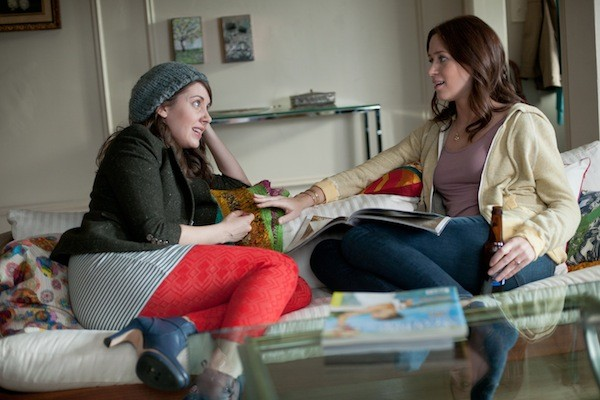 Alison Brie and Emily Blunt in The Five-Year Engagement (Photo: Universal)