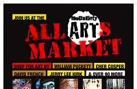 All Arts Market on Wednesday