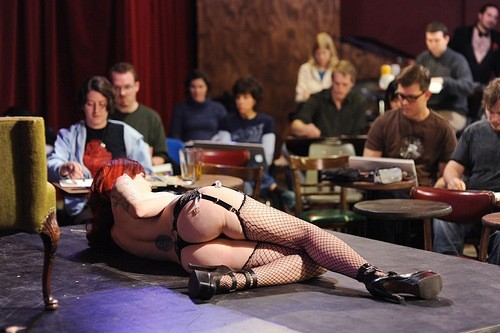 All photos are courtesy of Bob Nulf/Dr. Sketchy's