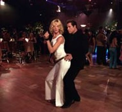 RON PHILLIPS / MGM - ALL THE RIGHT MOVES Uma Thurman jumped at the chance to get down with John Travolta again, this time for Be Cool