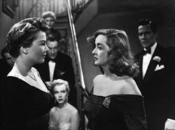FOX - ALL THE WORLD'S A STAGE: Anne Baxter (left) and Bette Davis in All About Eve.