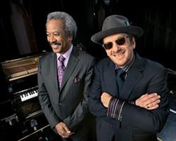 SHOREFIRE MEDIA - Allen Toussaint (left) and Elvis Costello
