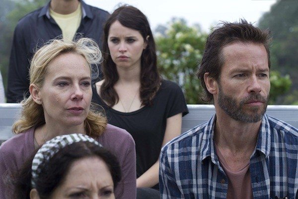 Amy Ryan, Felicity Jones and Guy Pearce in Breathe In