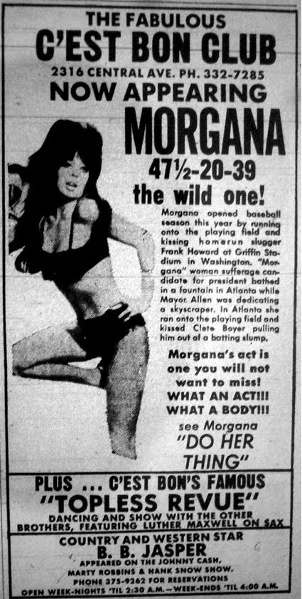 An ad for the Cest Bon Club, one of 17 to burn in a five-year period, between 1971 and 1976. The owners of the Cest Bon also operated two other clubs that burned.