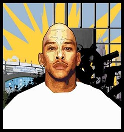 WOLLY - An artist's depiction of Rae Carruth