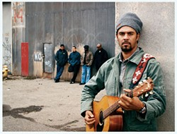 ANTI - AN INSTRUMENT OF PEACE: Michael Franti (right) with Spearhead