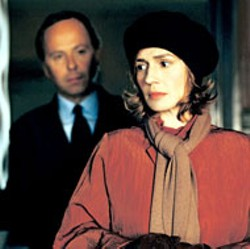 PARAMOUNT CLASSICS - ANALYZE THIS Sandrine Bonnaire steps forth  to spill - her secrets to Fabrice Luchini in  Intimate - Strangers