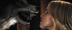 LIONSGATE - ANIMAL ATTRACTION: Anna Hutchison and friend in The Cabin in the Woods