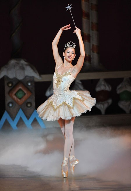 Anna Gerberich as Sugar Plum Fairy  - PETER ZAY
