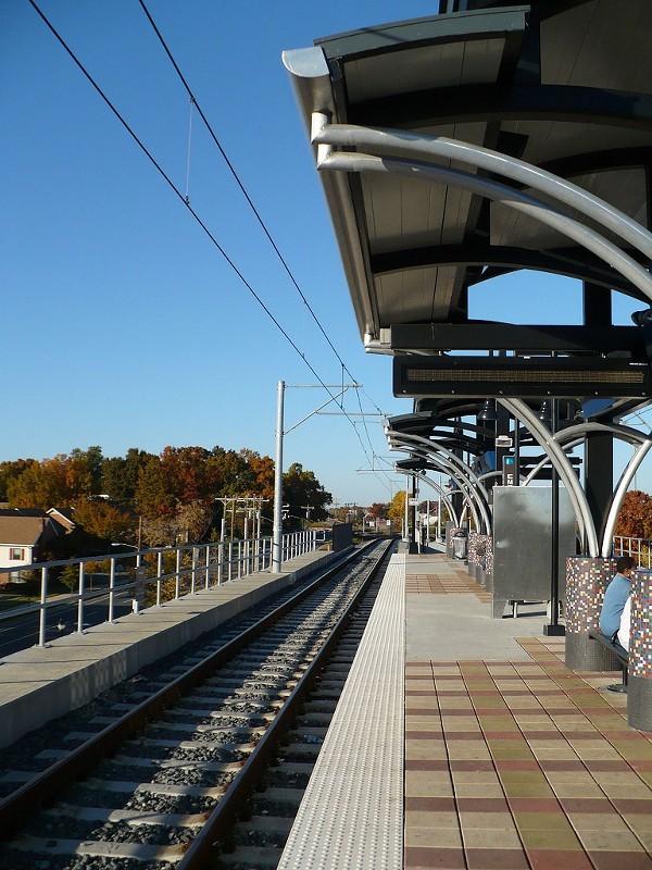 Archdale Light Rail Station, Nov. 2008